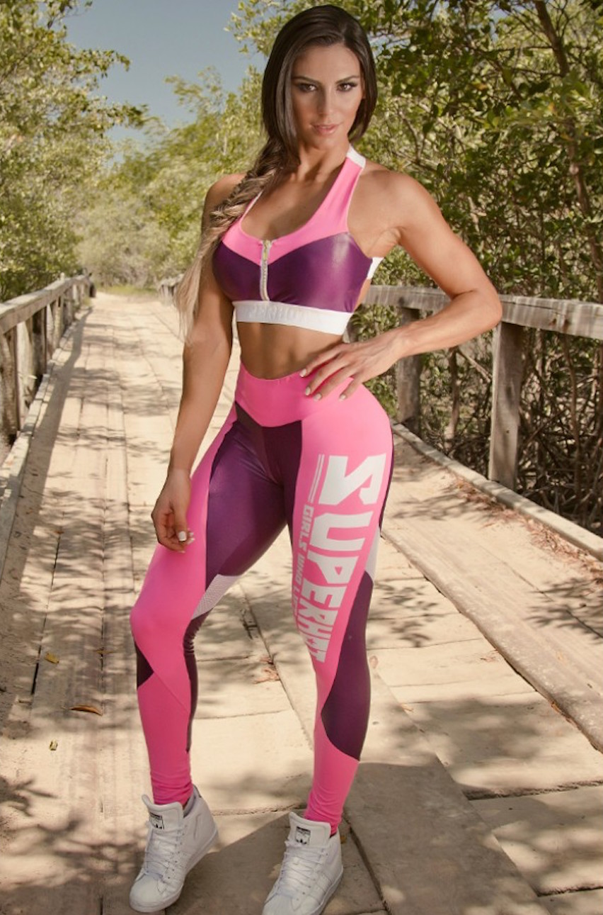 585a6b8d3d3c3 Super Hot Lift Legging Pink, Gym leggings, yoga tights