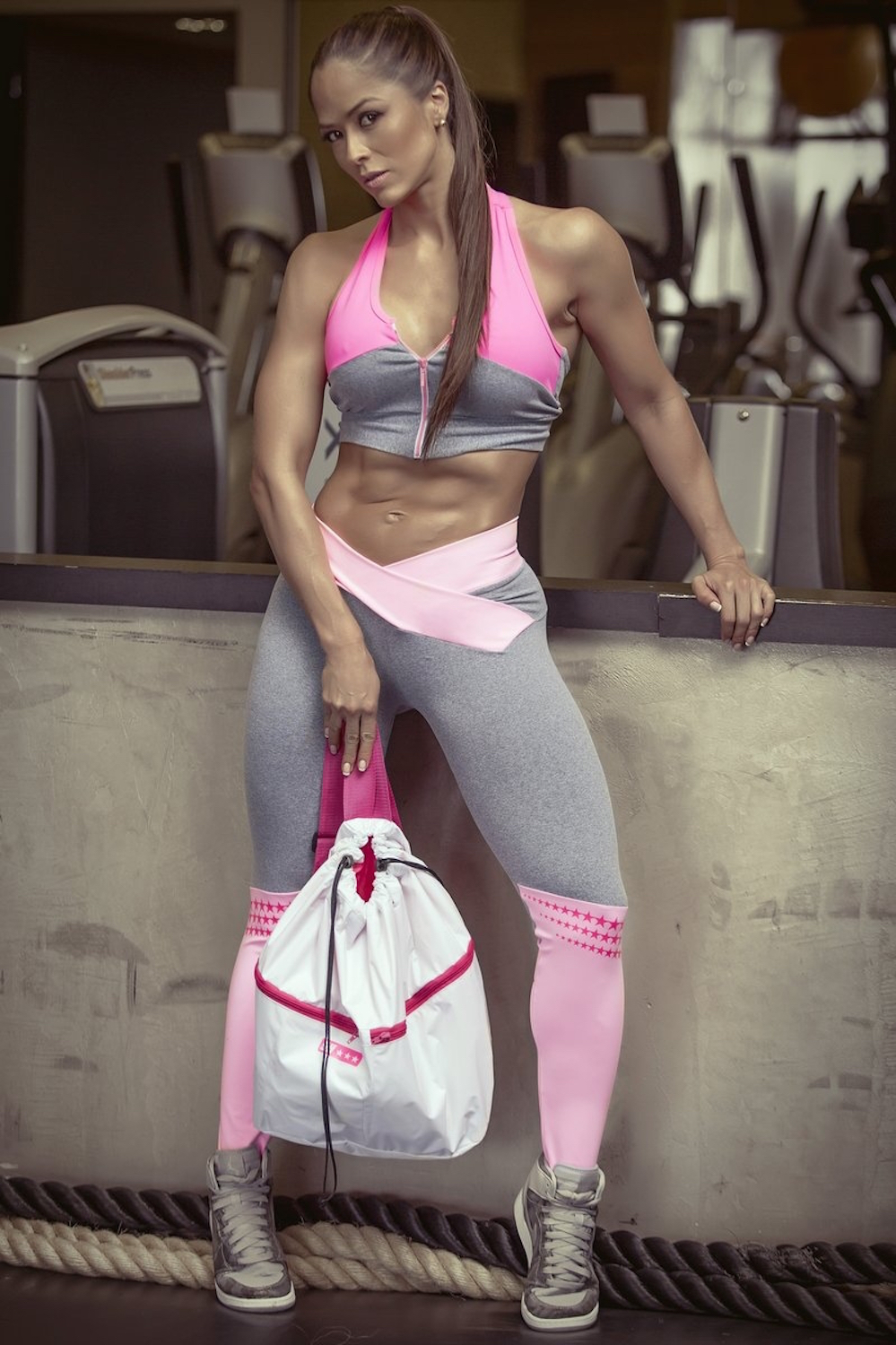 Super Hot Winners Legging Pink, gym wear, Brazilian Activewear