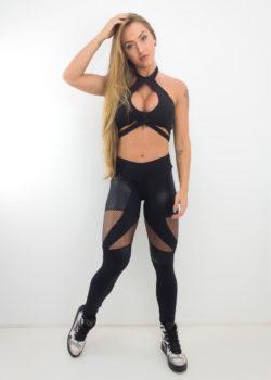 Leggings-Brazilactiv-Abstract-Black