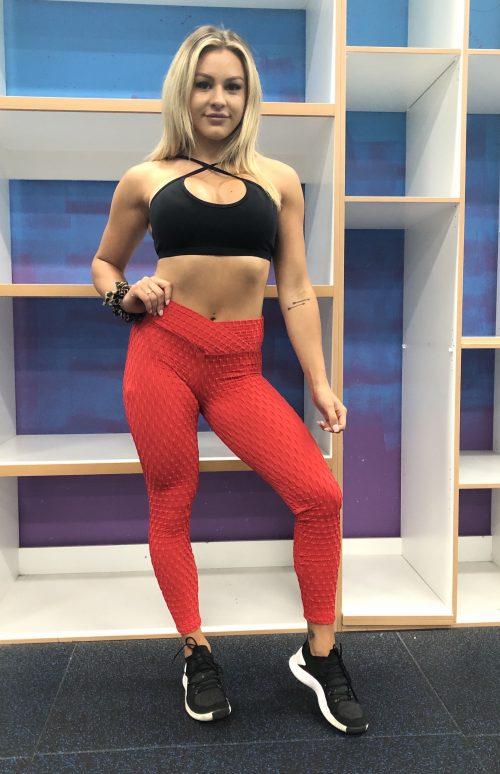 BrazilActiv Red Leggings