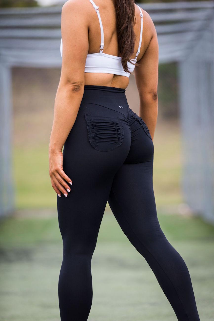 Pocket Legging-Blackbrazilian High End Gym Apparel-5254