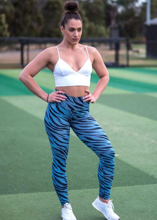 Blue Tiger Yoga Tights