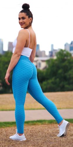 Scrunch butt leggings