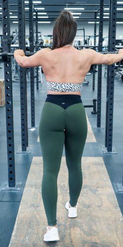 Army Scrunch bum Tights