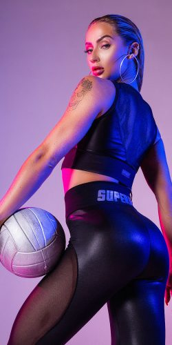 Superhot Legging Wet-Look