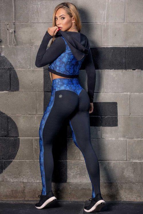 Printed Scrunch booty legging