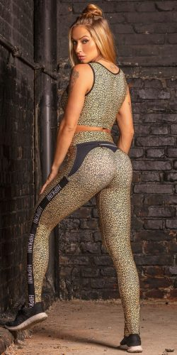 Cheetah Scrunch Leggings
