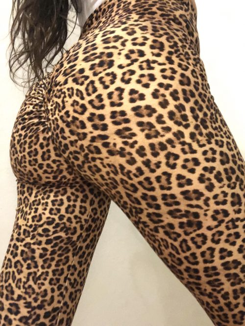 Cheetah gym leggings