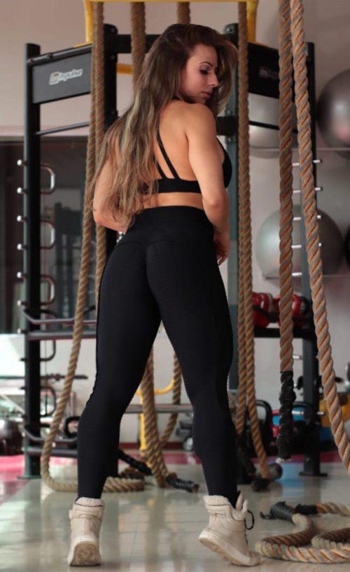 Push Up leggings Black