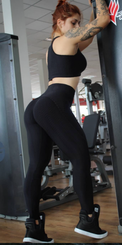 Push Up Leggings-Black
