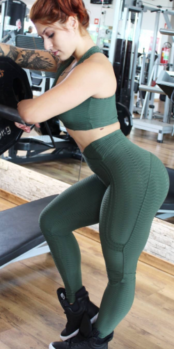 Push-Up Legging-Army
